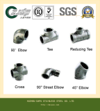 304/316 Gelijk T-stuk van het Roestvrij staal
