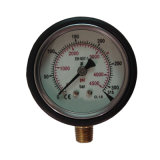 60mm High Pressure Stainless Steel Pressure Gauge with Rubber Cover