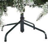 7.5FT LED Vor-Lit Snowy-Kiefer-künstlicher Weihnachtsbaum mit Kiefer-Kegeln und Mehrfarbenlichtern (MY100.094.00)