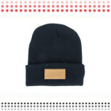 2016 New Style Crochet Patch Wool Beanie Caps