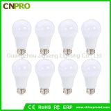 Bulbo revestido plástico del aluminio LED de la alta calidad SMD5730 LED 9W