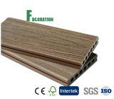 Decking ao ar livre plástico de madeira do revestimento de WPC