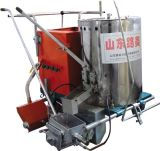 La pintura caliente del derretimiento empuja la máquina de la marca manualmente de camino