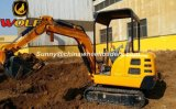 Miniminiexkavator des gräber-1.8ton mit Exkavator-Zubehör