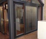 Glazed doble 6mm+25A+6m m Aluminium Lift y Sliding Door (BEL-140)