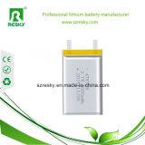 bateria recarregável 503035 do polímero do lítio de 3.7V 500mAh