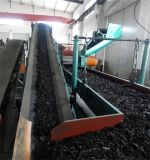 Gummipuder, das Maschine/volle Zeile Abfall-Reifen-Abfallverwertungsanlageaufbereitet