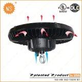La alta luz de la bahía del UFO 150W LED con UL Dlc enumeró