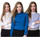 Новая кофточка рубашки 2017 женщин способа высокого качества