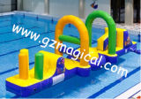Bouncer de salto do obstáculo do brinquedo inflável longo da água (Mic-112