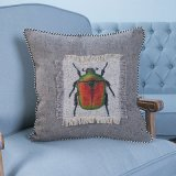 Met de hand gemaakt Decoratief Kussen/Hoofdkussen met het Patroon van het Insect (mx-47B/C/D/E/F/G)