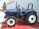고품질 4 실린더 Yto 엔진 90HP 4X4wd 트랙터
