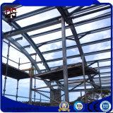 Estructura de acero del palmo grande para el garage