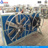 High Speed ​​PE Single Muur gegolfd Pipe Machine / extrusielijn
