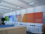 Großer Aufkleber Compay Wand Belüftung-Vinly mit Fahnen-Drucken