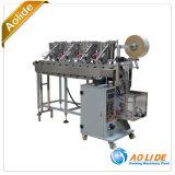 Máquina automática de Vffs da máquina de embalagem das peças de metal do distribuidor do prego do parafuso de parafuso