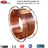 銅の上塗を施してある溶接ワイヤEr70s-6/Sg3si1の溶接材料のミグ溶接ワイヤー
