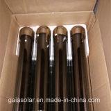 Tube collecteur solaire à trois vitres ciblées