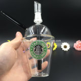 Tazza di Starbuck Dabuccino con gli impianti offshore uniti maschii per gli impianti offshore di Glassbongs