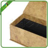 Caixa de presente feita sob encomenda do cartão da forma do livro com fechamento magnético