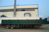 2 Wellen-grüner gerader Träger-Seitenwand-LKW-Schlussteil für Verkauf