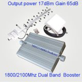 Repetidor dual St-1090A de la venda 900/1800MHz G/M del aumentador de presión móvil de la señal