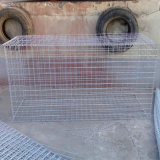 Caixa soldada galvanizada mergulhada quente de Gabion