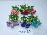 Alta qualità dei fiori artificiali Rosa Bush di Gu-Jys-P051021