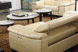 控えめで贅沢なイタリアデザインリクライニングチェアのソファーセット