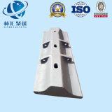 Doublure semi autogène de moulin/doublure moulin de fléchissement/accessoires de doublure/moulin/fléchissement/pièces semi autogènes de moulin
