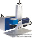 Pedb-400b hohe Präzisions-Tischplattenfaser-Laser-Markierungs-Maschine