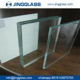 Vidrio de flotador Inferior-e laminado templado hoja aislador claro de Coloreded para el vidrio del edificio