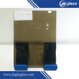 4mm青銅色または灰色か青または緑の反射ガラス、構築ガラス