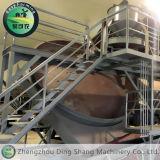 Fertilizantes orgánicos disco de granulación Línea de Producción