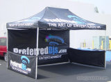 10X10FT Outdoor Portable Pop Up Canopy Display Tente pliante en aluminium