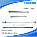 Serve lungo Life Integral Drill Rod per Ore Mining
