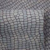 Matt-mögen Oberflächenschlange-Haut künstliches PU-Schuh-Leder