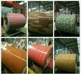 Материальная стальная фабрика конструкции PPGI цветка катушки