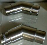 Menuisier affleurant de 135 degrés pour la balustrade et la balustrade d'acier inoxydable