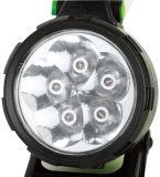 Projector recarregável de 5 diodos emissores de luz