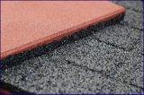 屋内屋外のゴム製床タイル