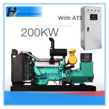 Gruppo elettrogeno diesel senza spazzola di rame puro dell'alternatore 200kw/250kVA della fabbrica 100% della Cina