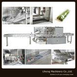 Machine van de Verpakking van het Hoofdkussen van de hoge snelheid de Horizontale voor Groente en Fruit