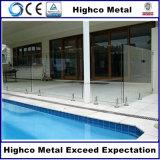 Espita de cristal del cuadrado del acero inoxidable para el cercado de cristal de la piscina de Frameless