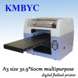 A3 Size High Speed Eco Solvent Multipurpose Digital Flatbed Printer
