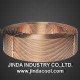 Klimaanlagen-waagerecht ausgerichteter Wundring-kupfernes Gefäß ASTM B280, ASTM B68, JIS H3300