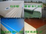 ISO9001: 2008 scheda della melammina MDF/Particle di colore chiaro di memoria del pioppo del grado 1220*2440 della mobilia E2/E1