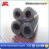 Tuyau hydraulique en caoutchouc SAE 100r2at de tuyau hydraulique