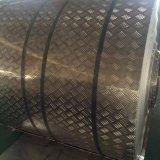 Cinq barres, une bobine en aluminium de semelle de barre pour le but antidérapant