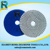 Пусковые площадки 200# диаманта Romatools полируя намочили пользу